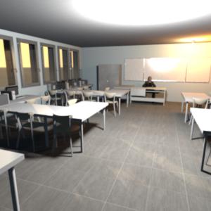 ►02-Comment réaliser une représentation 3D de la salle de technologie ?